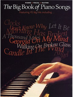 The Big Book Of Piano Songs Books | Piano, Vocal & Guitar