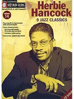 Jazz Play Along: Volume 14 - Herbie Hancock Books and CDs | B Flat Instruments, E Flat Instruments, C Instruments