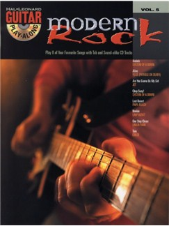 Guitar Play-Along Volume 5: Modern Rock Books and CDs | Guitar Tab