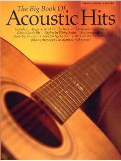 The Big Book Of Acoustic Hits Books | Piano, Vocal & Guitar (with Chord Boxes)