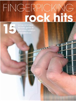 Fingerpicking Rock Hits Books | Guitar Tab, Voice