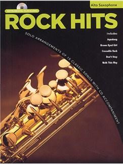 Rock Hits Instrumental Playalong: Alto Saxophone Books and CDs | Alto Saxophone