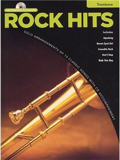 Rock Hits Instrumental Playalong: Trombone Books and CDs   Trombone