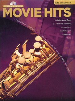 Movie Hits Instrumental Playalong: Alto Saxophone Books and CDs | Alto Saxophone