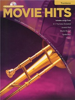 Movie Hits Instrumental Playalong: Trombone Books and CDs | Trombone