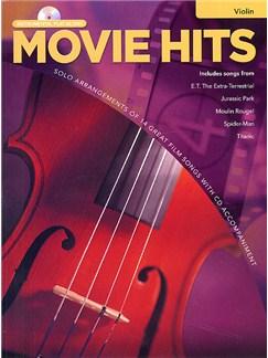 Movie Hits Instrumental Playalong: Violin Books and CDs | Violin