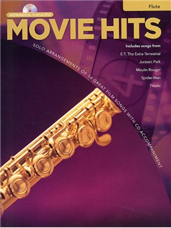 Movie Hits Instrumental Playalong: Flute Books and CDs | Flute