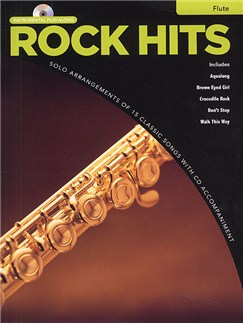 Rock Hits Instrumental Playalong: Flute Books and CDs | Flute
