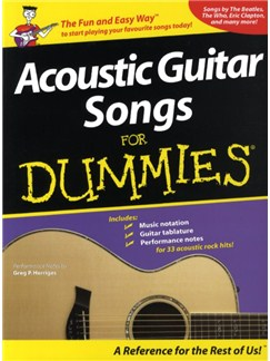 Acoustic Guitar Songs For Dummies Books | Guitar Tab