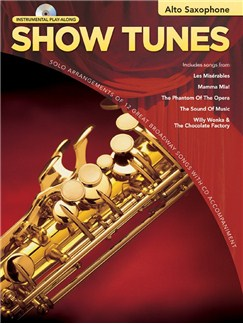 Hal Leonard Instrumental Play-Along: Show Tunes (Alto Saxophone) Books and CDs | Alto Saxophone