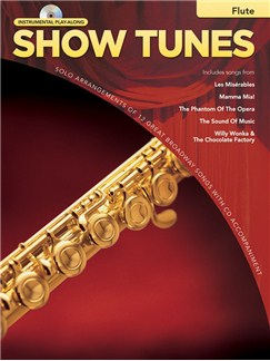 Hal Leonard Instrumental Play-Along: Show Tunes (Flute) Books and CDs   Flute