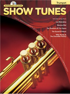Hal Leonard Instrumental Play-Along: Show Tunes (Trumpet) Books and CDs | Trumpet