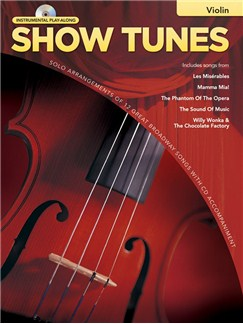 Hal Leonard Instrumental Play-Along: Show Tunes (Violin) Books and CDs | Violin