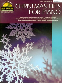 Piano Play-Along Volume 12: Christmas Hits For Piano Books and CDs | Piano, Vocal & Guitar (with Chord Boxes)