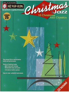 Jazz Play Along: Volume 25 - Christmas Jazz Books and CDs | All Instruments