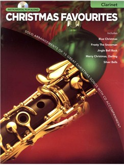 Instrumental Play-Along: Christmas Favourites (Clarinet) CD et Livre | Clarinette