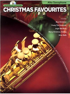 Instrumental Play-Along: Christmas Favourites (Alto Saxophone) Books and CDs | Alto Saxophone
