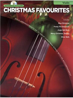 Instrumental Play-Along: Christmas Favourites (Violin) Books and CDs | Violin