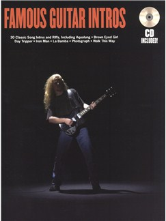 Famous Guitar Intros Books and CDs | Guitar