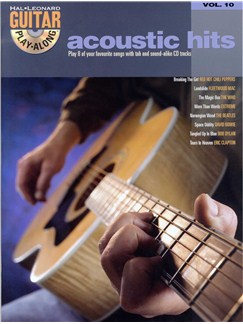 Guitar Play-Along Acoustic Hits Volume 10 (Book And CD) Books and CDs | Guitar