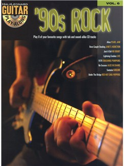 Guitar Play Along Volume 6: '90s Rock Books and CDs | Guitar Tab