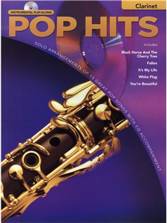 Instrumental Play-Along: Pop Hits - Clarinet Books and CDs | Clarinet