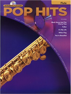 Instrumental Play-Along: Pop Hits - Flute Books and CDs | Flute