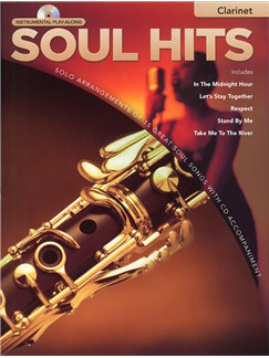Instrumental Play-Along: Soul Hits (Clarinet) Books and CDs | Clarinet