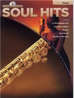 Instrumental Play-Along: Soul Hits (Flute) Books and CDs | Flute