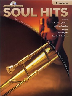 Instrumental Play-Along: Soul Hits (Trombone) CD et Livre | Trombone