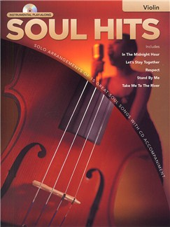 Instrumental Play-Along: Soul Hits (Violin) CD et Livre | Violon