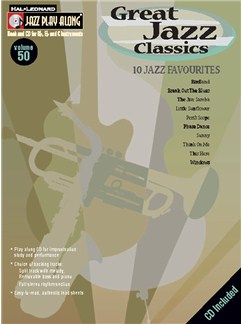 Jazz Play Along: Volume 50 - Great Jazz Classics Books and CDs | All Instruments