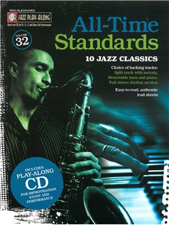 Jazz Play-Along Volume 32: All Time Standards Books and CDs | E Flat Instruments, Bass Clef Instruments, C Instruments, B Flat Instruments