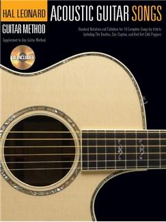 Hal Leonard Guitar Method: Acoustic Guitar Songs (Book And CD) Books and CDs | Acoustic Guitar