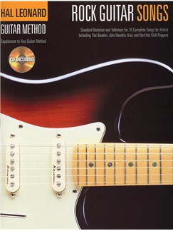 Hal Leonard Guitar Method: Rock Guitar Songs Books and CDs | Guitar
