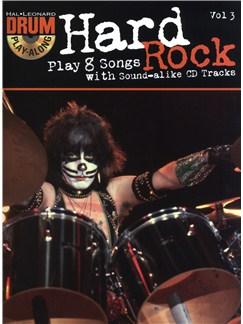 Drum Play-Along Volume 3: Hard Rock CD y Libro | Batería