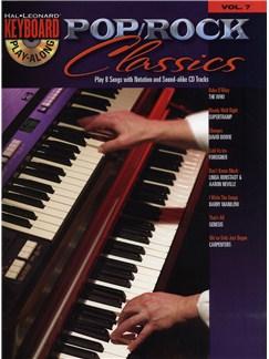 Keyboard Play-Along Volume 7: Pop/Rock Classics Books and CDs | Keyboard