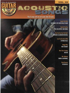 Hal Leonard Guitar Play-Along Volume 69: Acoustic Songs Books and CDs | Guitar