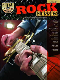 Guitar Play-Along Volume 81: Rock Classics Books and CDs | Guitar