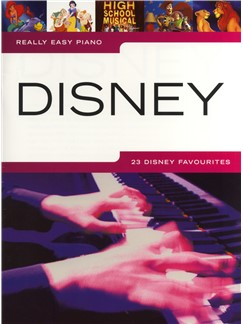 Really easy piano Disney image