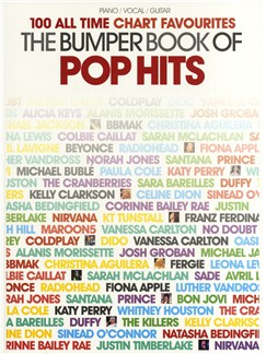The Bumper Book Of Pop Hits - 50 All Time Chart Favourites Books | Piano, Vocal & Guitar
