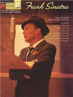 Pro Vocal: Frank Sinatra Books and CDs | Melody Line, Lyrics & Chords