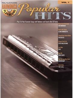 Hal Leonard Harmonica Playalong: Popular Hits Volume 1 Books and CDs   Harmonica