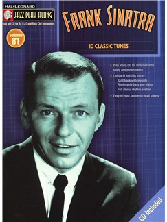 Jazz Play-Along Volume 81: Frank Sinatra Books and CDs   B Flat Instruments, E Flat Instruments, C Instruments, Bass Clef Instruments
