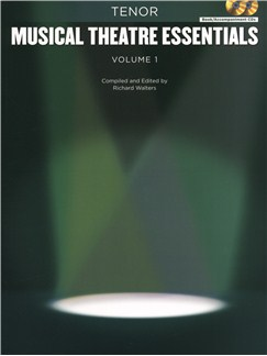 Musical Theatre Essentials: Tenor - Volume 1 (Book/2CDs) Books and CDs | Tenor, Piano Accompaniment