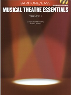 Musical Theatre Essentials: Baritone/Bass - Volume 1 (Book/2CDs) Books and CDs | Baritone Voice, Bass Voice, Piano Accompaniment