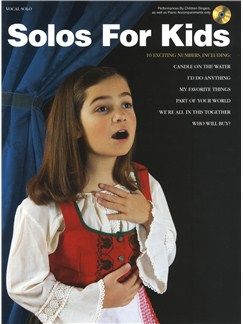 Solos For Kids Books and CDs | Voice, Piano Accompaniment