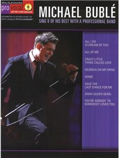 Pro Vocal: Michael Bublé Books and CDs | Voice