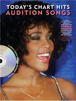 Audition Songs For Female Singers: Today's Chart Hits Books and CDs | Piano, Vocal & Guitar