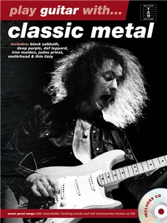 Play Guitar With... Classic Metal Books and CDs | Guitar Tab, Guitar